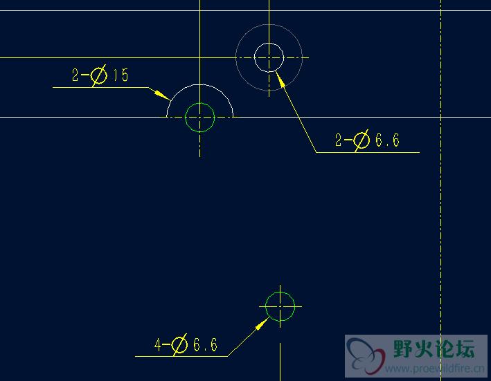 proe5.0工程图字体的显示 工程图图片