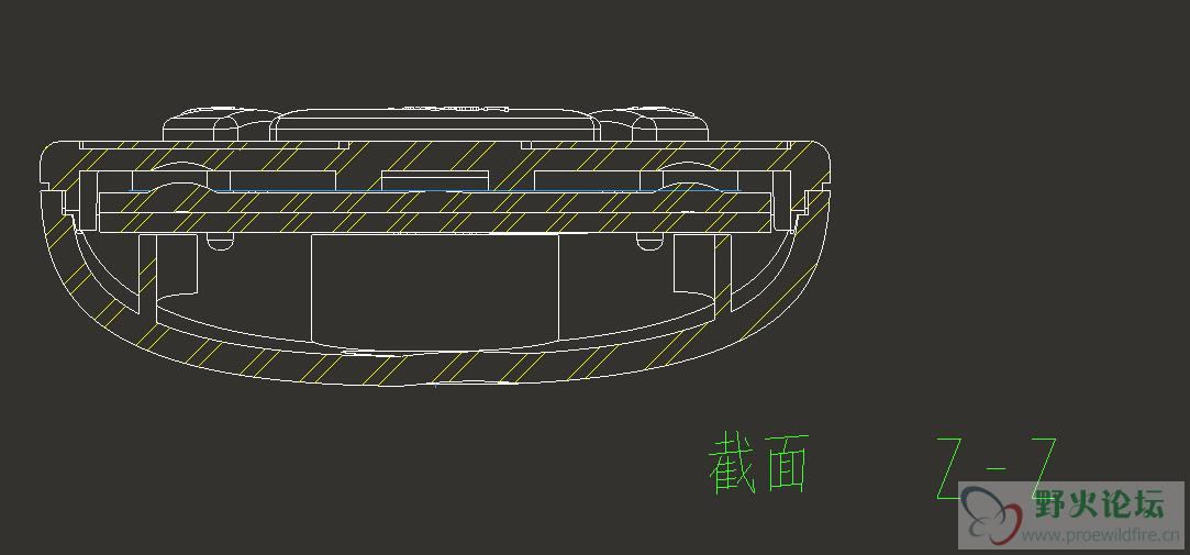 PROE 工程图剖面线的类型配置问题图片