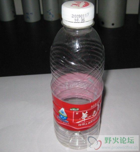 这个矿泉水瓶子曲面如何做 一个难题