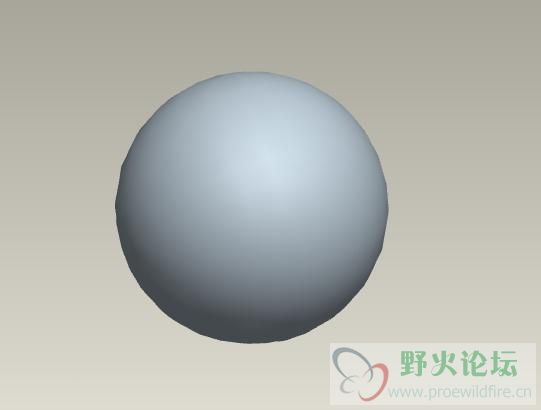 的方法将图1的正方形形状转变成图2的球形