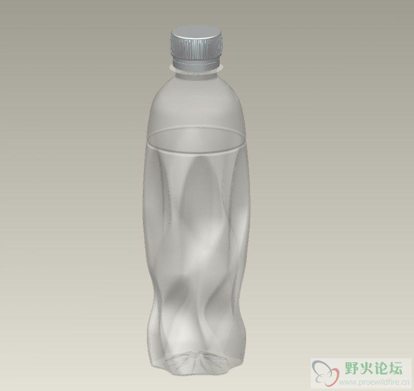 我画矿泉水瓶2,请多多指教 -水瓶1