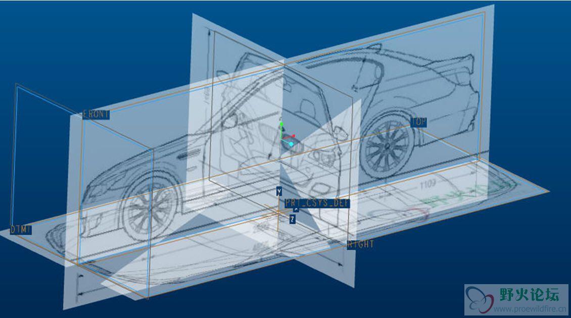proe逆向工程设计教材 2d转3d,图片造型,点云 曲面设计图片