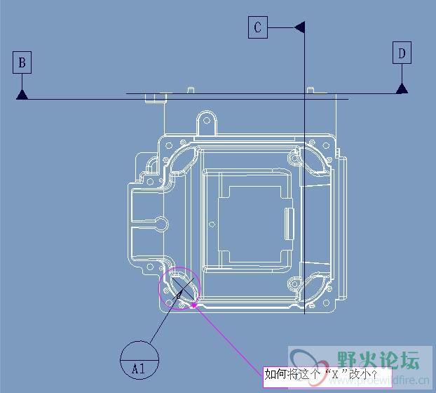 proe5工程图的的一个疑问图片