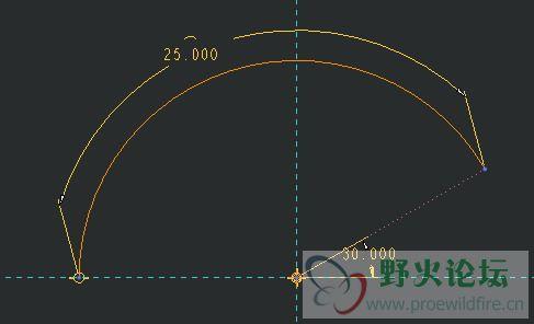 如何标注一段圆弧或椭圆弧的周长?