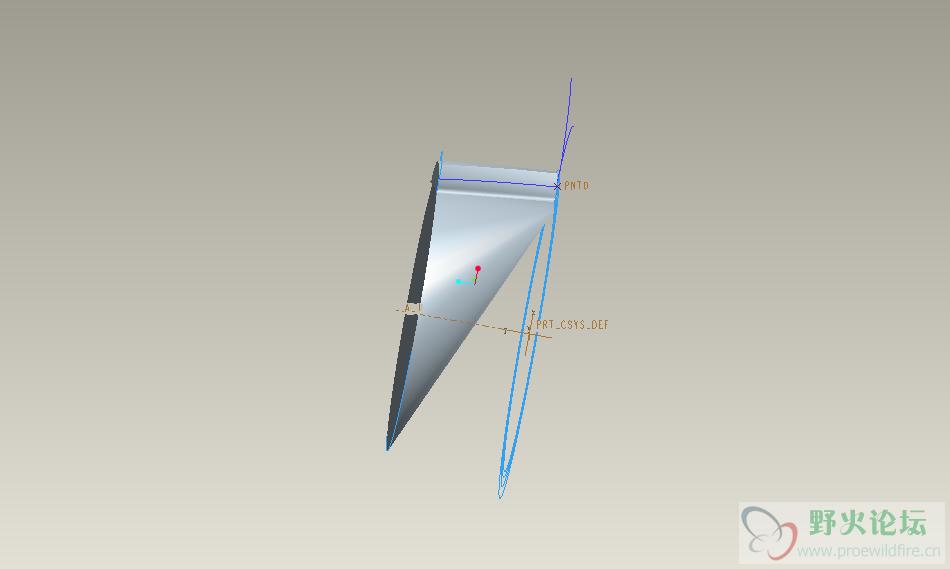proe 画的斜齿轮出问题了 零件建模
